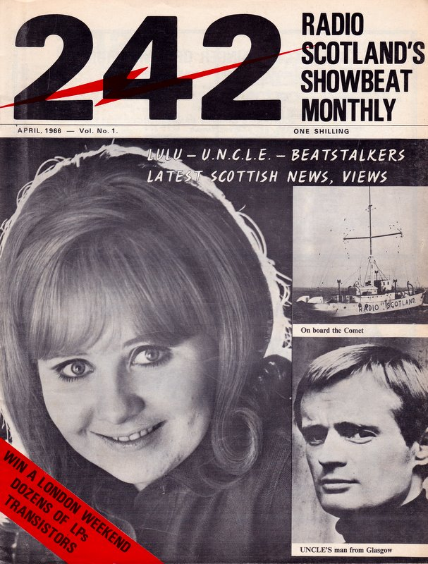 the front cover of the first issue of 242 magazine
