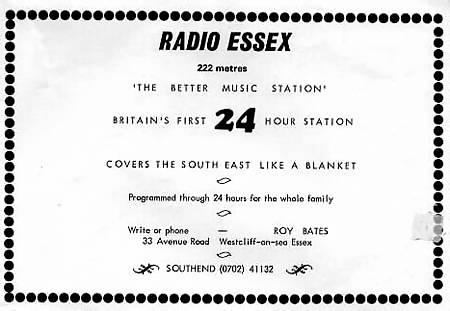 Radio Essex advertisement