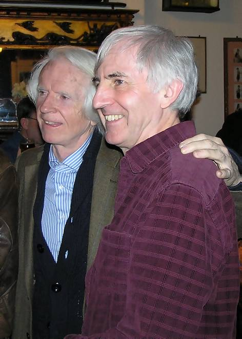 Ronan O'Rahilly and Roger Day
