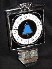 Caroline badge voiture Club
