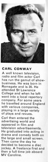 Carl Conway biography