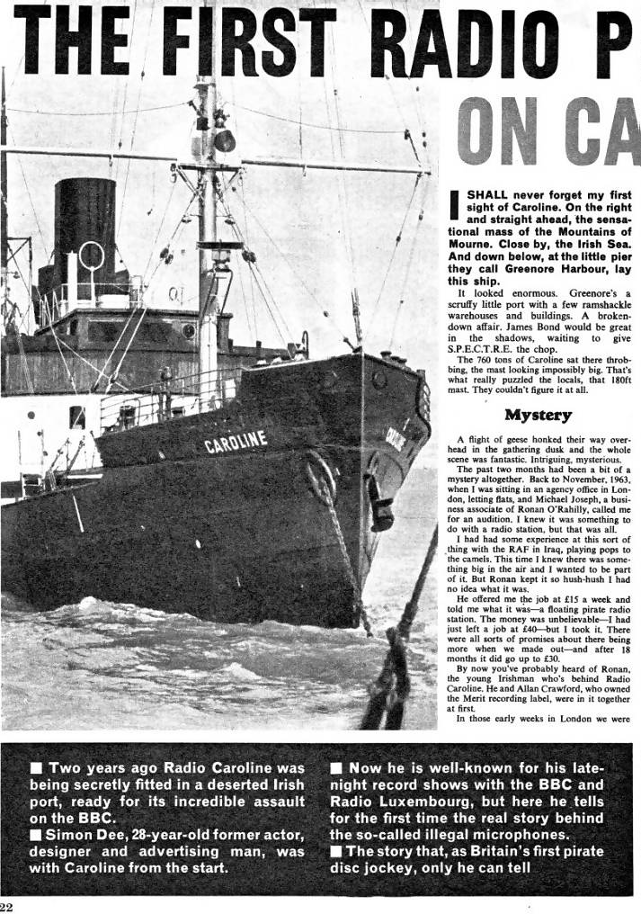 radio caroline pirate radio and pop
