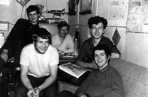 Van Stirling, Richard Palmer, Keith Robinson, Dick Dixon, Roger Scott