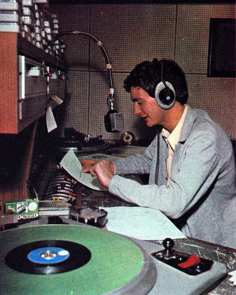 Kenny Everett on the air