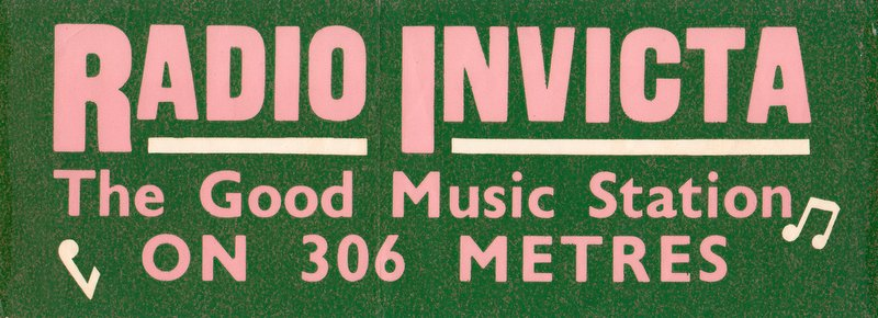 Radio Invicta car sticker