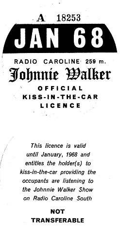 Kiss In The Car licence