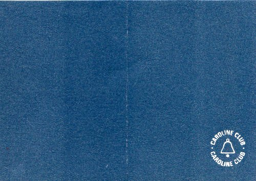 Caroline Club membership card