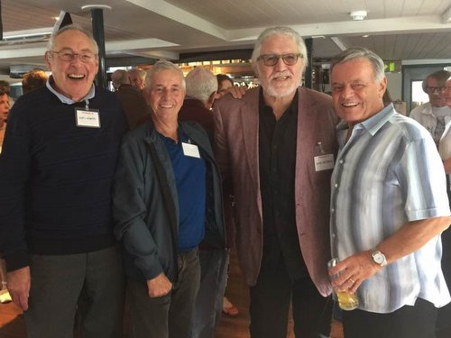 Jerry Leighton, Tony Prince, Dave Lee Travis, Tony Blackburn
