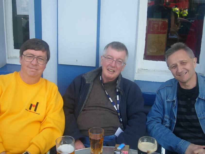 Chris Payne, Mike Ahern and Clive Smith