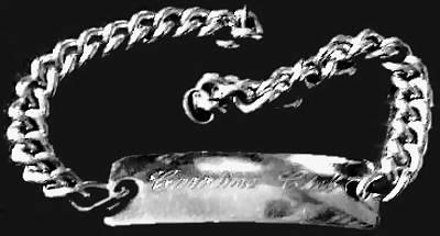 Caroline bracelet d'identité Club