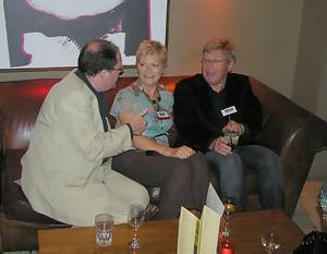 Tony Currie, Cathy Spence and Ben Healy