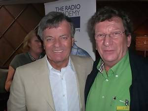 Tony Blackburn and Robbie Dale