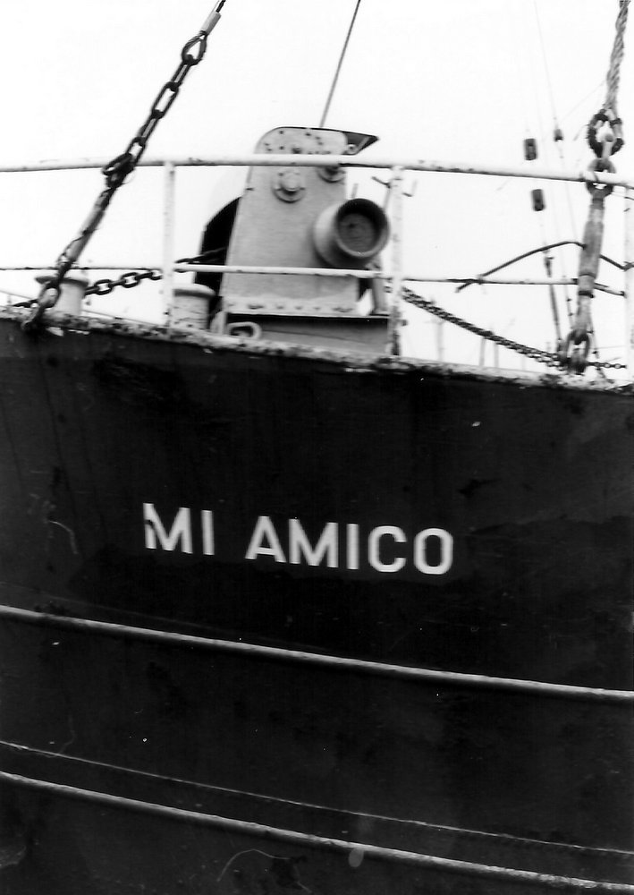 mv Mi Amigo in Zaandam