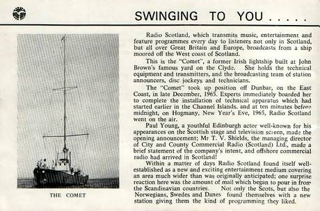 Radio Scotland booklet, page 6