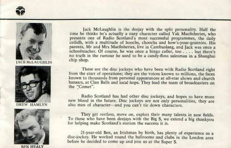 Radio Scotland booklet, page 11
