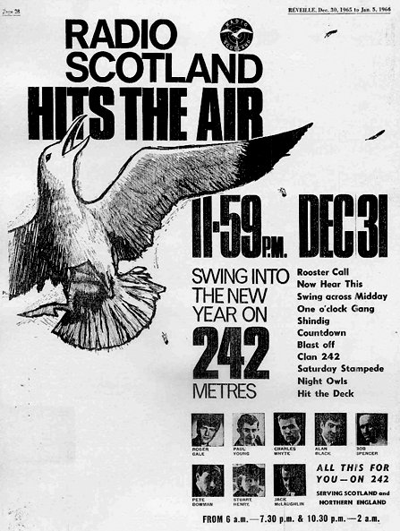 Radio Scotland launch advert