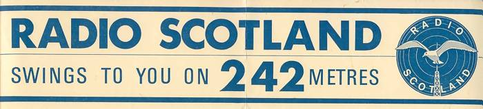 Radio Scotland car sticker