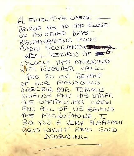 radio scotland scripts
