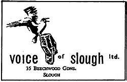 Voice of Slough compliments slip